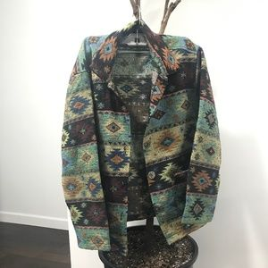 Sweaters - cool patterned jacket